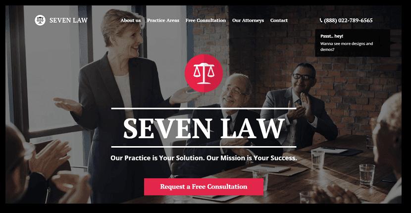 Mejores temas Wordpress para Abogados, Sector Jurídico y Legal | 2018