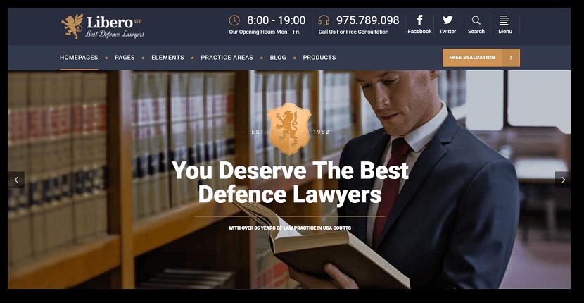 mejores-temas-wordpress-abogados-liber