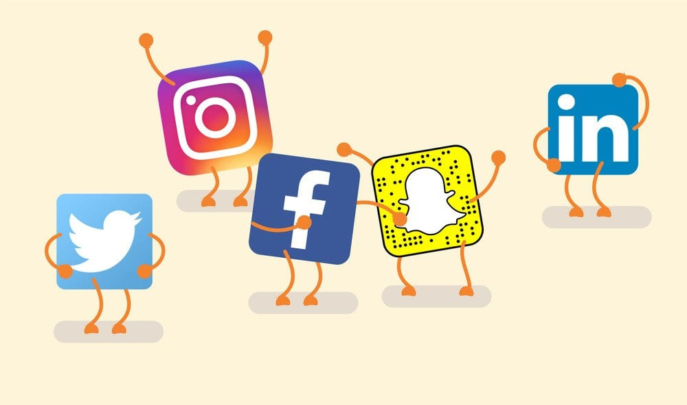 redes sociales agencia de viajes