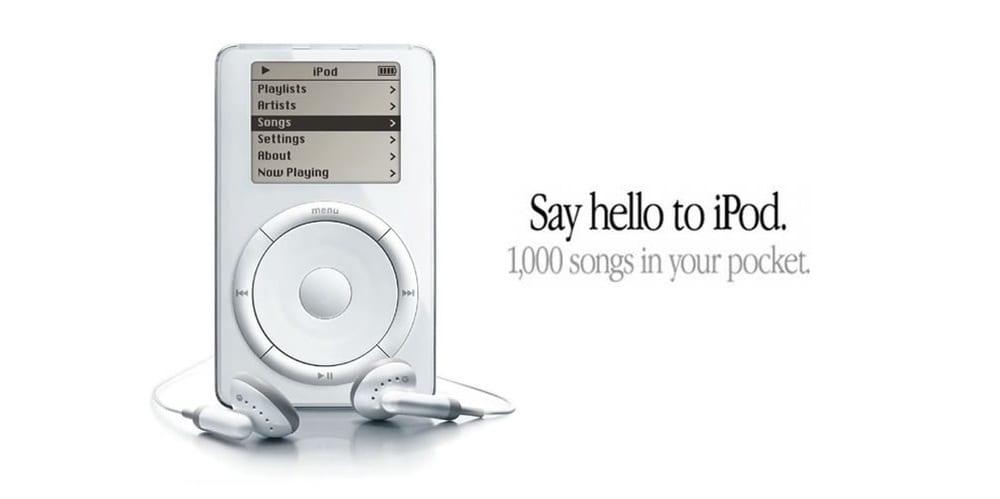 Ipod 1000 canciones