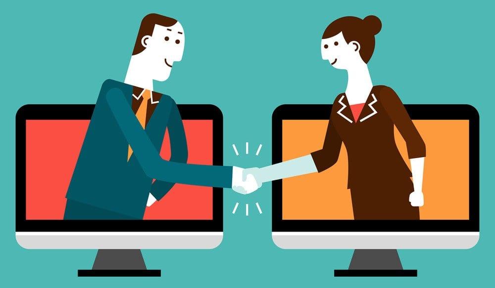 Interacción online